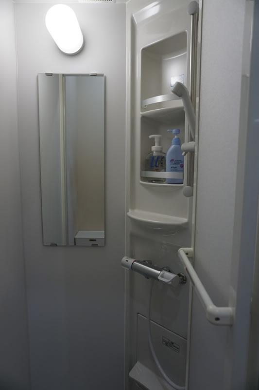 いろり助産院 シャワールーム